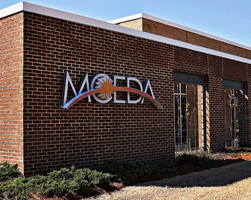 Front of the MCEDA office building in Canton, MS.