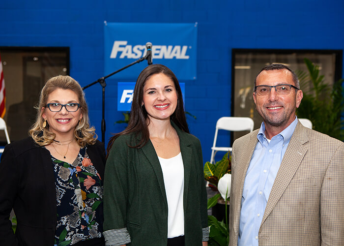 Fastenal Distribution Center Grand Opening