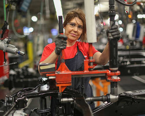 Nissan Employee in Canton, Mississippi