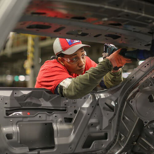 Nissan worker in Canton, Mississippi